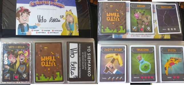 VITO TEAM karty kolekcjonerskie
