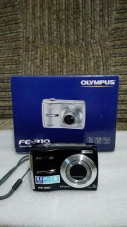 Olympus FE-310 8.0 MP Digital Camera - With USB Cable