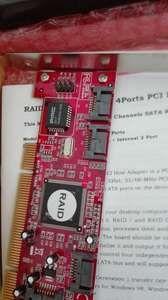 Placa PCI Raid