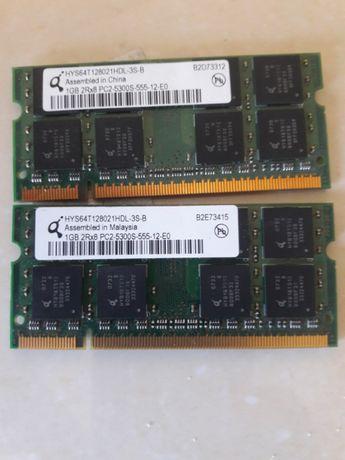 Memórias DDR2 1GB