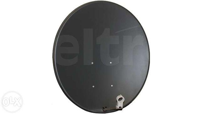 Zestaw satelitarny Czasza Antena 90 cm Corab Konwerter Opticum