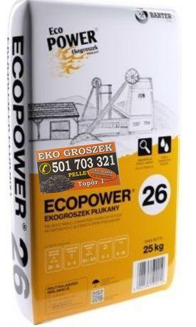 Węgiel Ekogroszek Eco Power Extra 24-26Mj/kg trans. gratis*