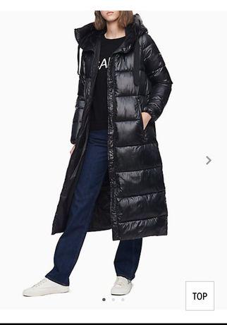 Скидка 2 дня!!Новое пальто  Calvin Klein, L ( зима)