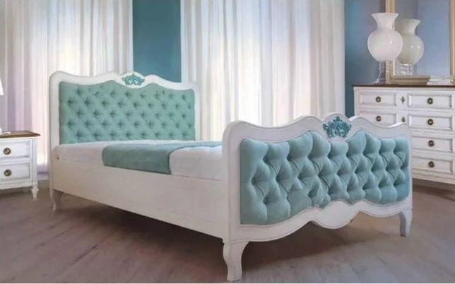 Кровать детская деревянная с мягкой спинкой 120х200 Доставка бесплатно
