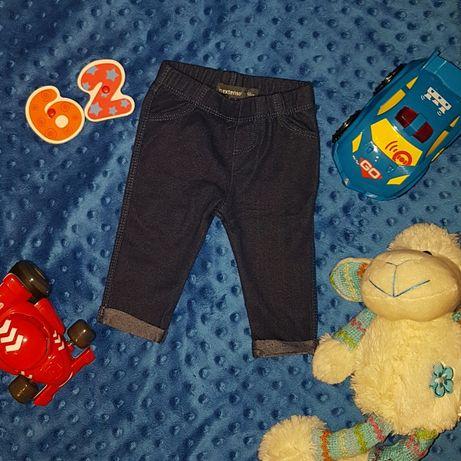 Spodenki leginsy 62 kolor jeans chłopiec dziewczynka