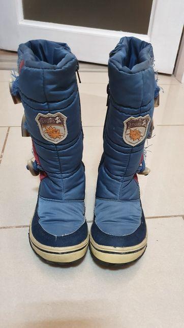 Ботинки сапоги для девочки зимние Stups