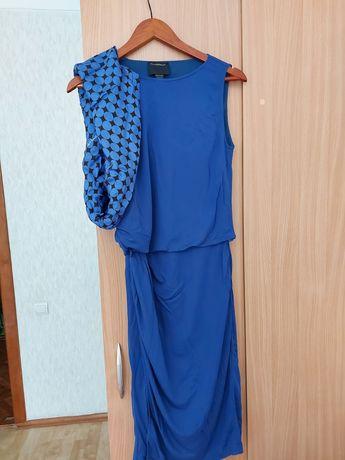Платье RobertoCavalli синее XS-S