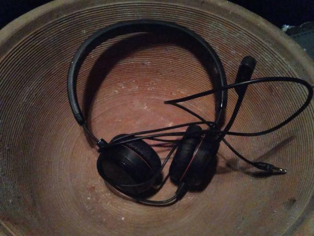 Słuchawki przewodowe z mikrofonem jabra