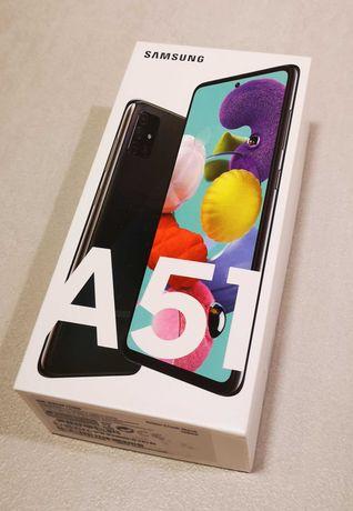 Samsung Galaxy A51, nowy, nierozpakowany, plomba na pudełku