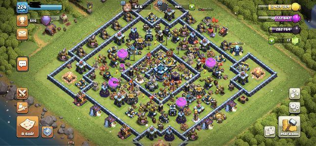 Аккаунт clash of clans 13th full