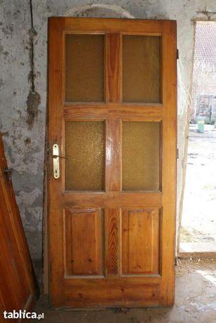 Odrestaurowane drzwi przedwojenne- stan b. dobry!!