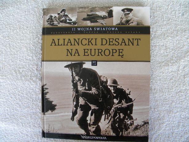 książka aliancki desant na europę