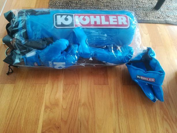 Saco de box Kohler + proteção de cara + luvas