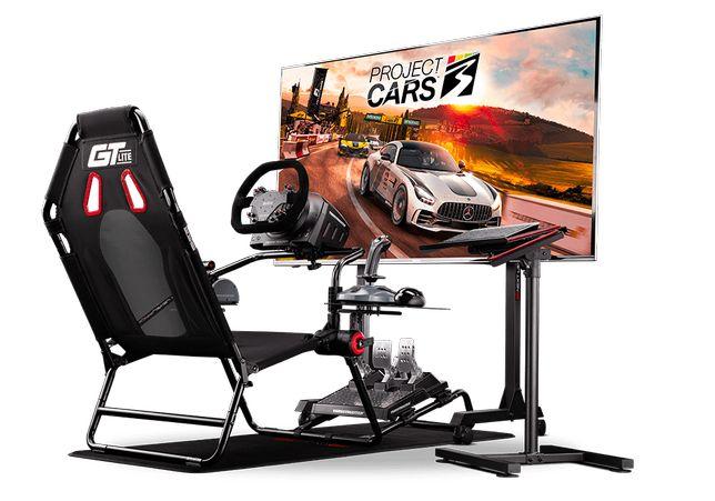 Cockpit Next Level Racing GT Lite Simulador Playseat Corridas NOVO