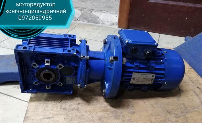 моторедуктор конічно-циліндричний 0,75кВт