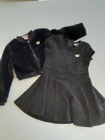 Sprzedam sukienkę z futerkiem 104-98 Juicy Coutere