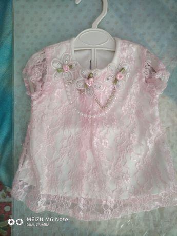 Красивое платье на маленькую принцесу