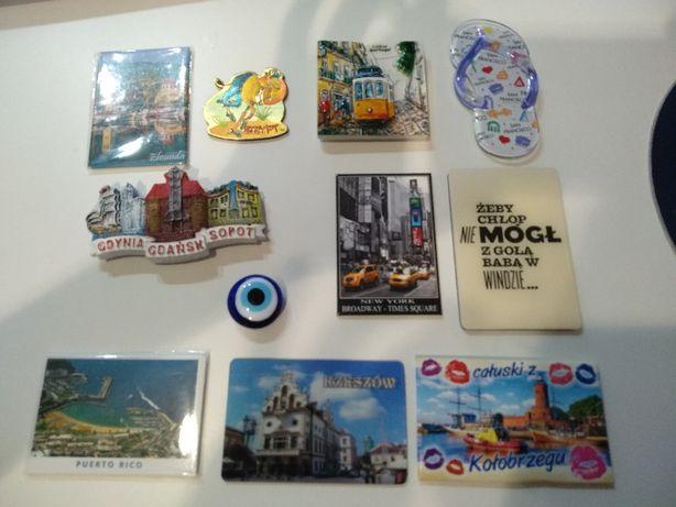Kolekcja magnesów