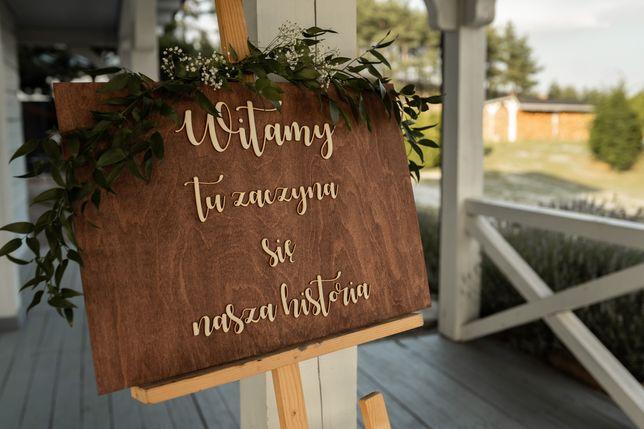 Wynajem ozdób i dekoracji weselnych/MIŁOŚĆ