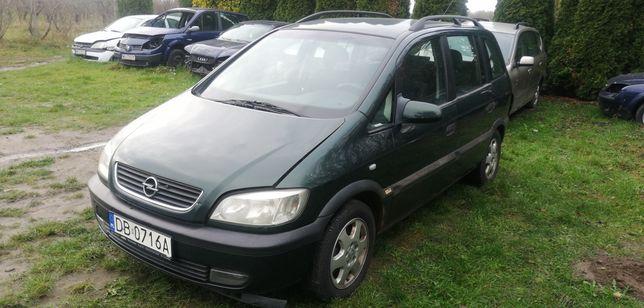 Opel Zafira 1.8 16v, całe auto na części