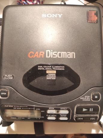 Sony car discman leitor CD + Bolsa