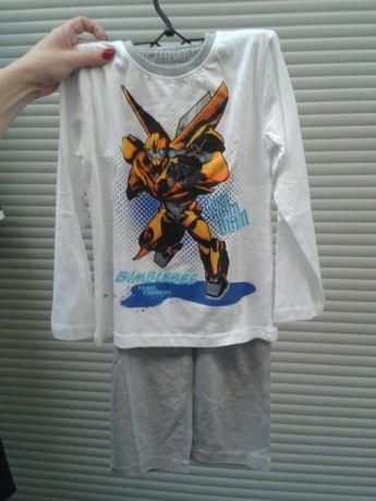Piżama Transformers rozmiary 98, 104, 110, 122 tylko bluzka (góra )