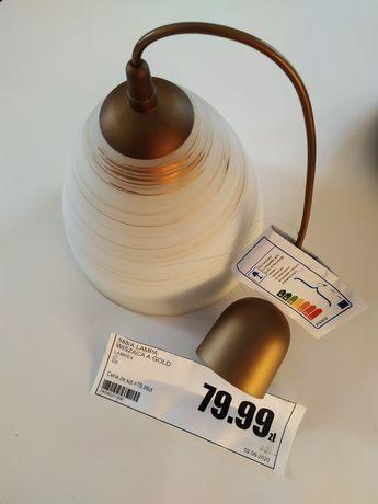 Lampa wisząca gold, nowa, żyrandol