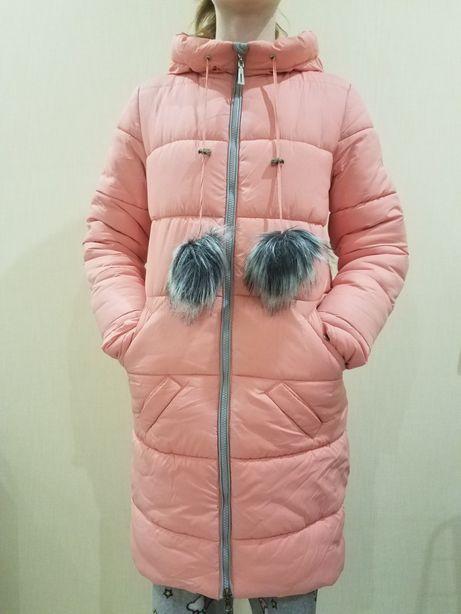 Пальто-пуховик на девочку