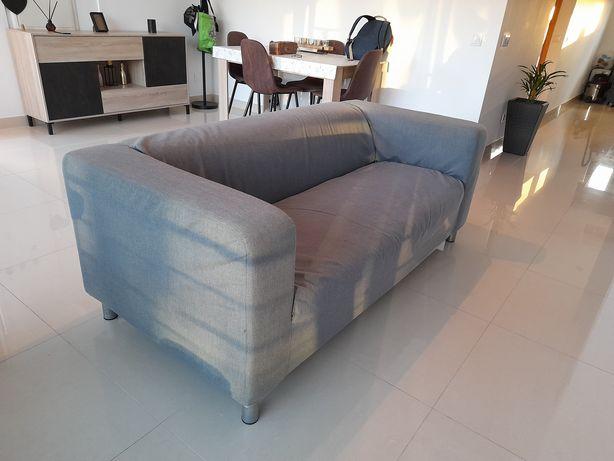 Sofá com capa removível