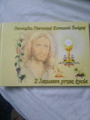 Pamiątka I Komunii Świętej -Z Jezusem przez Życie