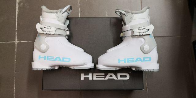 Dziecięce buty narciarskie Head Z1 JR White/Gray 175