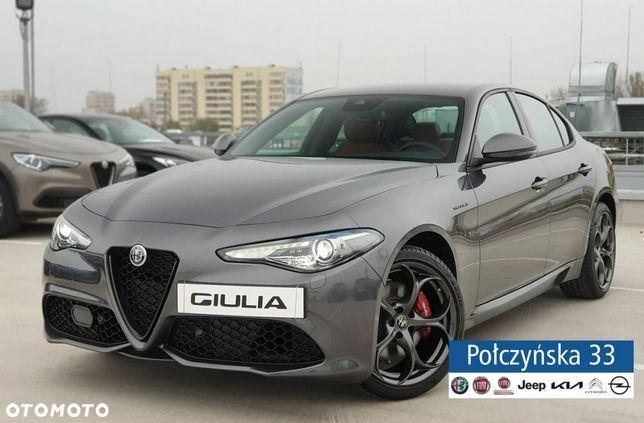 Alfa Romeo Giulia Veloce Q4 At 2.0 280 Km |Szary Vesuvio|Brązowa