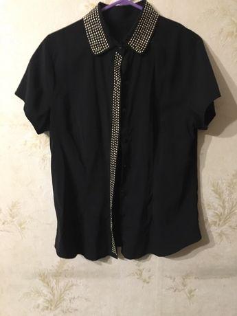 Легкая блузочка с коротким рукавом