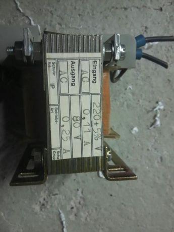 Transformator 20va 80v 0,25a