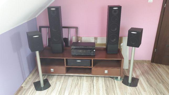 Zestaw Kino Domowe ONKYO , amplituner + DVD + zestaw głośników 5.1 !!