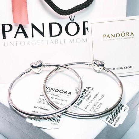 Pandora браслет + ПОДАРОК! 100% s925 Пандора браслеты и шармы