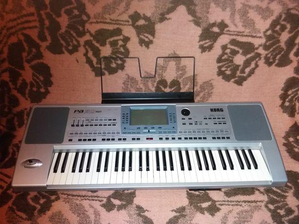KORG PA 50 sd синтезатор - аранжеровщик