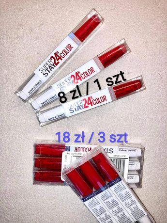Szminka Mabylline super stay 24h color Red