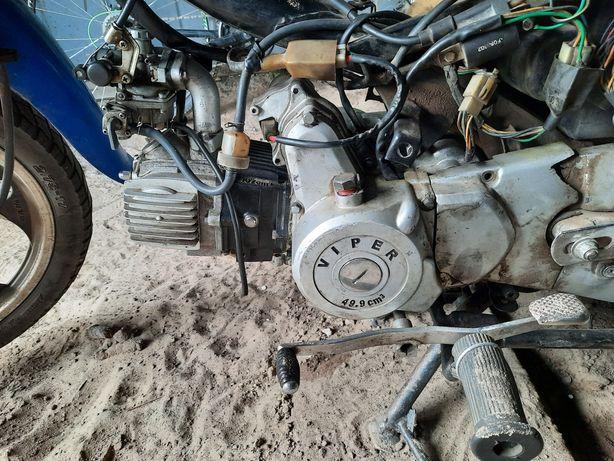 Двигатель на Вайпер Актив 110 кубиков Полуавтомат