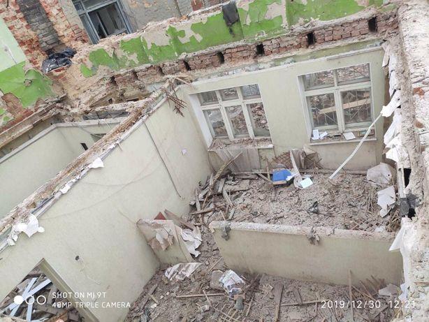 Демонтаж земляные работы сварочные работы вынос вывоз мусора
