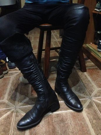 Продам Сапоги Ботфорты