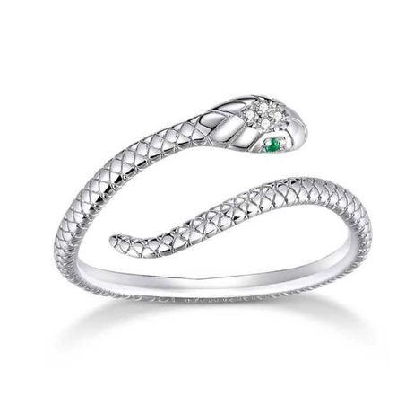 Pierścionek srebrny 925 prezent żmijka wąż żmija do Pandora Apart