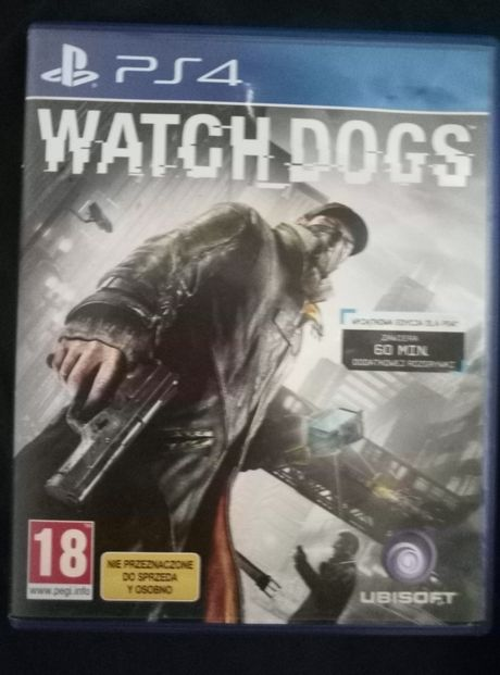 "Gra na ps4 ""Watch Dogs"""