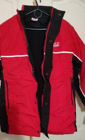 Новая, зимняя (спортивная) куртка Coca Cola (M)