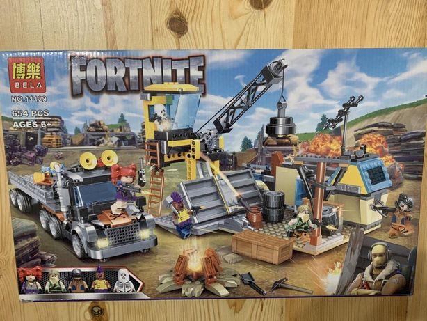 Конструктор 11129 Fortnite База, транспорт, фигурки. Аналог Лего Lego