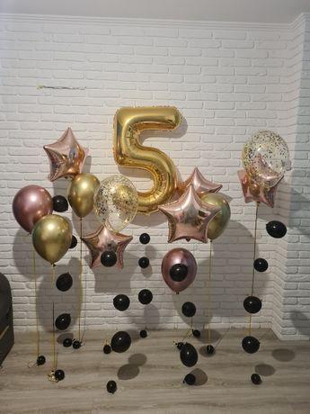 Воздушные гелиевые шарики. Фольгированные шары с гелием. Фотозона.
