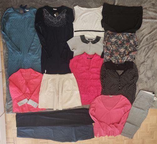Zestaw 14szt-bluzka,żakiet, spódnica, spodnie, sukienka, wysyłka