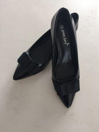 Buty - szpilki- czarne
