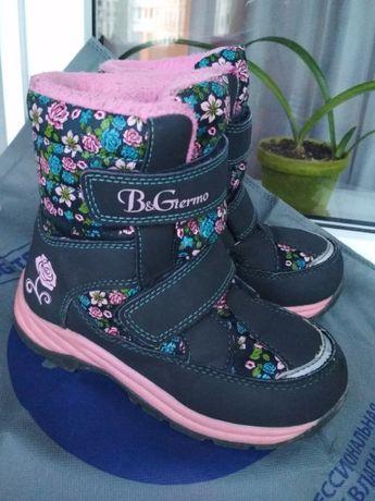 Зимние термо ботинки сапоги B&G