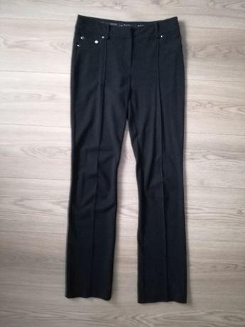 Molton czarne spodnie 36